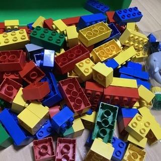 LEGO レゴブロック ☆ ぞうと人形付き☆