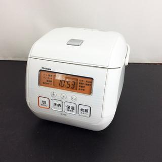 中古☆TOSHIBA マイコンジャー炊飯器 17年製 RC-5SK