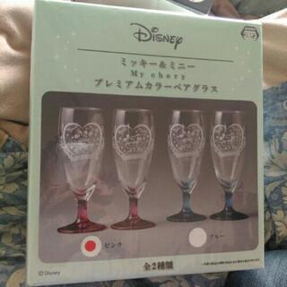 グラス ミッキーマウス ミニーマウス