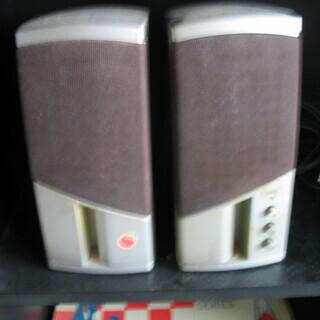 PC・CDラジカセ用のスピーカー