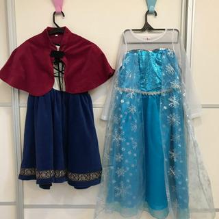 アナ&エルサのドレスセット