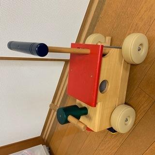 幼児用押し車(またがり乗車可能)