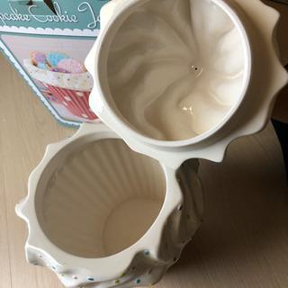 ソフトクリームの陶器