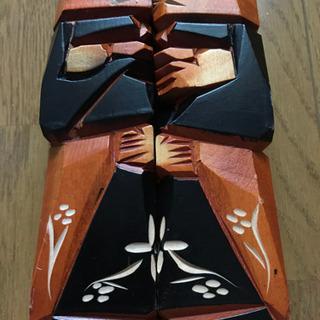 中古 アイヌ 木彫り ニポポ 人形