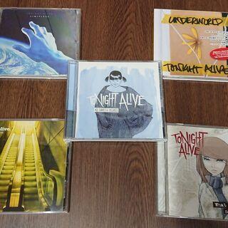 Tonight Alive トゥナイト・アライヴ CD 5枚セット