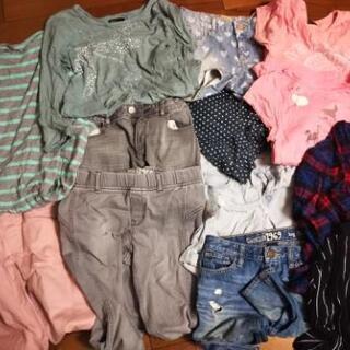 GAP、ZARAメイン14点女の子子供服ズボン、パンツ、ワンピー...
