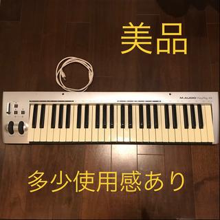 【値下げ】即決優先  美品 MIDIキーボード M-AUDIO ...