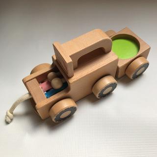 【知育玩具】ベネッセ 木製プルトイ カタカタ 木のおもちゃ…