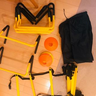 【新品未使用】サッカートレーニング用品一式