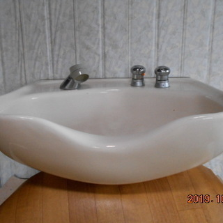 TOTOシャンプ用洗面器具新品同様 台セット価格