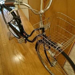 27インチ 自転車 ブラック