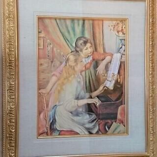 オーギュスト ルノワール 「ピアノによる少女たち」 インテリア ...