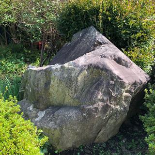 引き取り限定!!大きい庭石!!