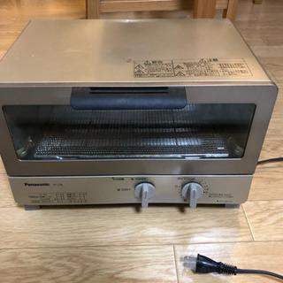 【無料】Panasonic オーブントースター 差し上げます
