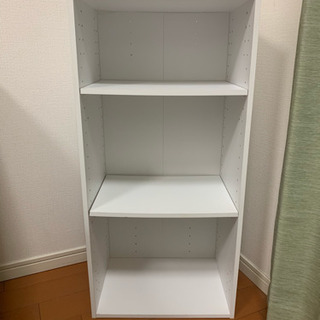 ☆無料☆組立式収納棚 【棚板の高さ調節可】
