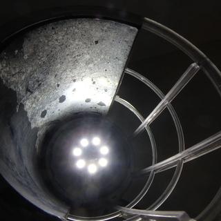 シバタ ③ ハンドランプ FHL-3 LED ライト 付き 100V 24W ライト 電球 作業用 作業灯 震災 建築 現場 電動工具 DIY 中古品 宮城 - 売ります・あげます