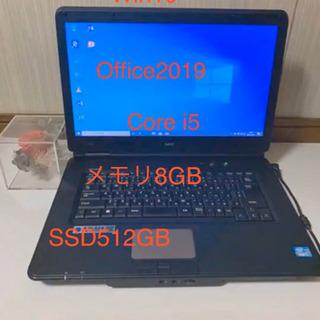 格安‼️NEC Corei5 新品SSD512GB Win10 ...
