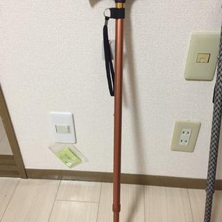 介護用品 杖 (10段階調整)