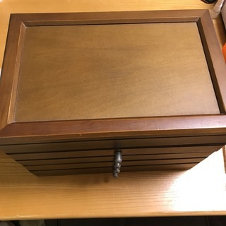 ジュエリーケース 木製