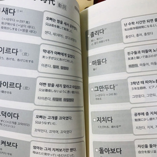 【新品未使用】韓国語単語帳 ハン検 TOPIK 3級準2級 TOPIK中級 カバー付き − 静岡県