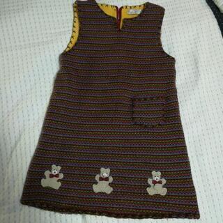 ジャンパースカート 女子120