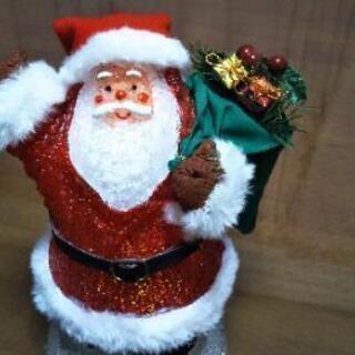 ◆ サンタクロース(ライト & オルゴール付)◆の画像