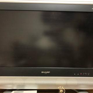 【取引中】シャープ製26インチ液晶テレビ - 名古屋市