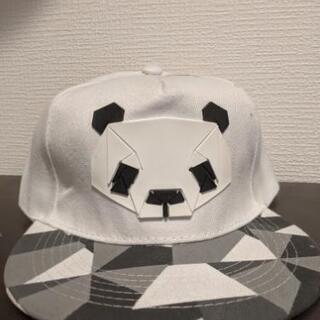 パンダのキャップ