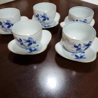 茶碗 茶托 5客セット