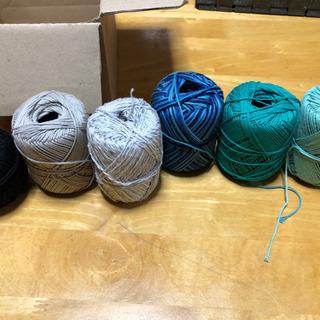 毛糸6個セット
