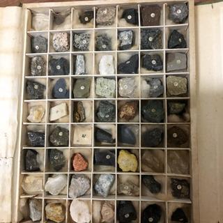 30 【受け渡し予定者確定済】岩石鉱物標本