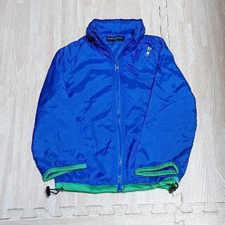 青のキッズジャンパー 110cm