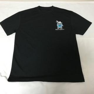 沖縄土産 シーサー野球Tシャツ 黒  Lサイズ