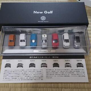 歴代GOLFミニカーセット「限定版」