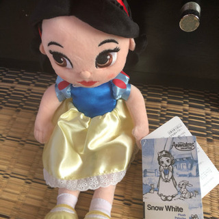 レア 白雪姫の人形 タグ付き
