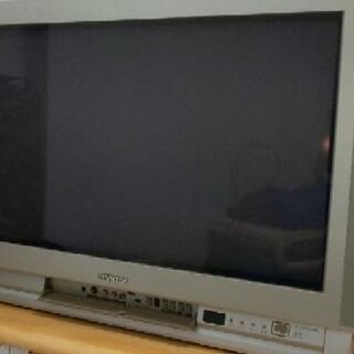 古いテレビあげます