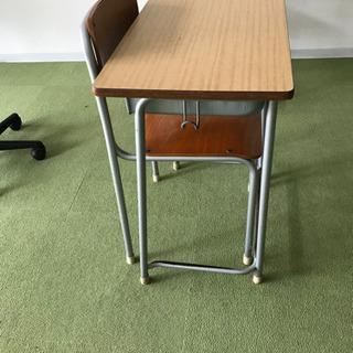 中古学校机.椅子10セット