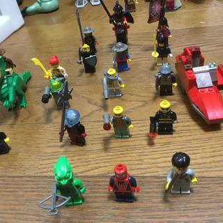 LEGO(ハリポッターや、スパイダーマンのキャラクター、飛行機)