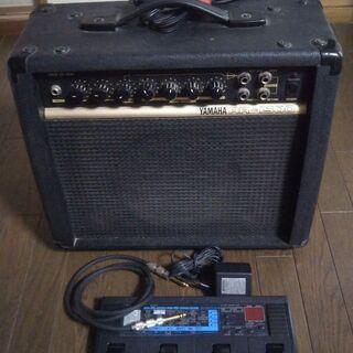 ギターアンプ、エフェクター