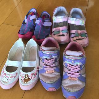 子供靴 4足 全部19cm