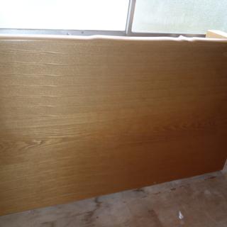 大きめの木製テーブル(中古優良品)・こたつ利用可能(装置セット)