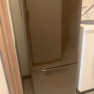 [取引中]パナソニック 冷蔵庫 NR-B143W ブラウン 一人...