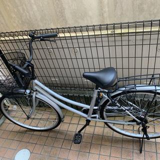 【値下げ】自転車 カゴ付き 26インチ 美品