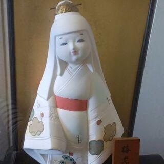 ★博多人形『匠五郎作:梅光』中古品(日本人形)★