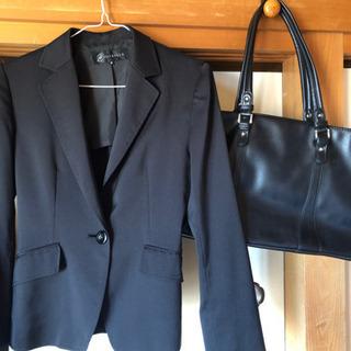黒スーツセット (就活/入学式などに)
