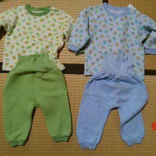 冬物パジャマ サイズ90&95