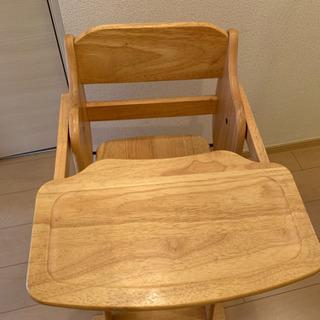 ベビーチェアー椅子(折り畳み可)99.9%新・新品化粧ポーチプレゼント