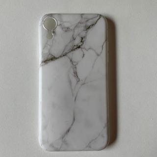 新品 iPhoneXR ケース マーブル