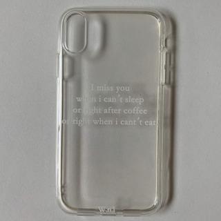 新品 iPhoneXR ケース シック