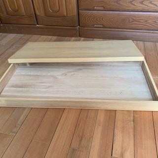 桐箱 蓋なし、蓋付き
